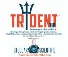 The Trident tip™ 200uL pre-racked, sterile micropipette tip - 960/PK, 4800/CS