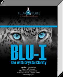 Blu-I Autoradiography Film 8x10, 100 Sheets per box