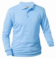 Unisex Long Sleeve Polo Jersey