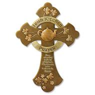 """""""Irish Kitchen Prayer"""" Cross"""
