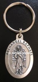 St. Raphael Keychain