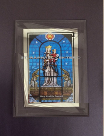 Framed Mary, Ark of the Covenant