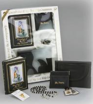 Black First Communion Set