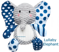 Lullaby Elephant blue
