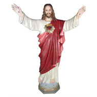 Jesus Sacred Heart Blessing - color