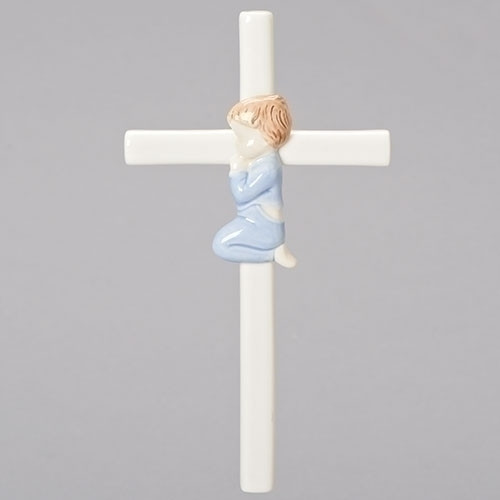 Porcelain Boy Cross