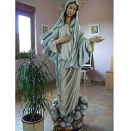 "Medjugorje Statue 46""H - Fiberglass"