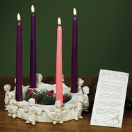 CHILDREN OF THE WORLD ADVENT CANDLE HOLDER