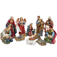 NATIVITY SET 11-PIECE 8 INCH