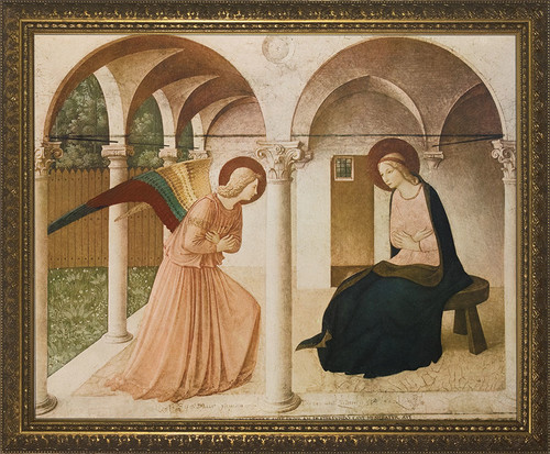 ANNUNCIATION BY BL. FRA ANGELICO