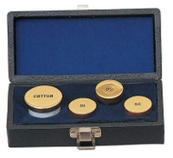 Sacristy Oil Set (pictured with 24k Gold Plated Finish) K41
