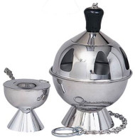 Censer and Boat - Stainless Steel K901
