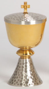 Gold Plated Two-Tone Ciborium K357