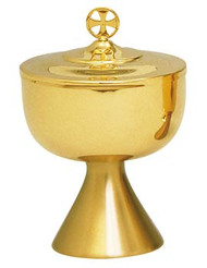Gold Plated Ciborium K596