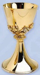 Gold Plated Chalice K721