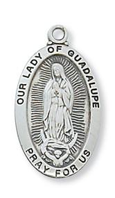 GUADALUPE MEDAL L500GU