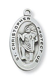 ST. CHRISTOPHER MEDAL L388