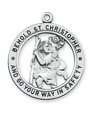 ST. CHRISTOPHER MEDAL L2514