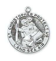 ST. CHRISTOPHER MEDAL L420CH