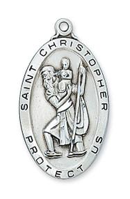 ST. CHRISTOPHER MEDAL L462