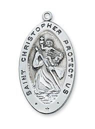 ST. CHRISTOPHER MEDAL L315CH
