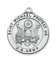 ST. MICHAEL ARMY MEDAL L650AM