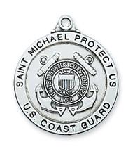 ST. MICHAEL COAST GUARD MEDAL L650CG