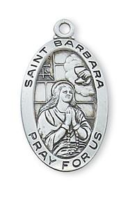 ST. BARBARA MEDAL L500BA