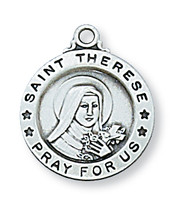 ST. THERESE LITTLE FLOWER MEDAL L700TF