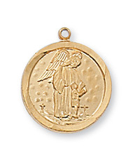 GUARDIAN ANGEL MEDAL J1514GA