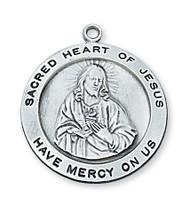 SACRED HEART OF JESUS MEDAL L567