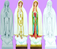 "24"" OUR LADY OF FATIMA OUTDOOR STATUE"