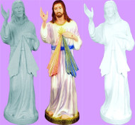 DIVINE MERCY OUTDOOR STATUE 24""