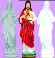 SACRED HEART OF JESUS OUTDOOR STATUE 24""