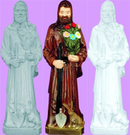 ST. FIACRE OUTDOOR STATUE 24""