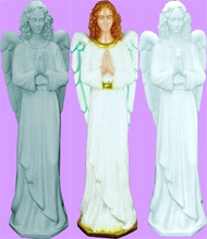 STANDING ANGEL OUTDOOR STATUE 36""