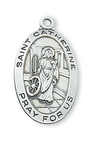 ST. CATHERINE MEDAL L500CT