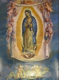 Our Lady of Guadalupe with Angels poster size print