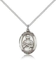 St. Kateri Sterling Silver Medal 8061-bliss