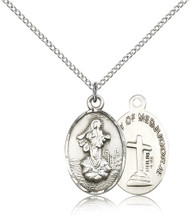 Our Lady of Medjugorje Sterling Silver Medal 5678-bliss