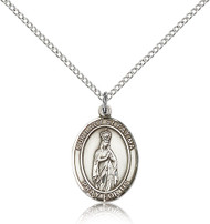 Our Lady of Fatima Sterling Silver Medal 8205-bliss
