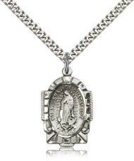 Our Lady of Guadalupe Sterling Silver Medal 2080-bliss