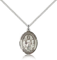 Our Lady of Knock Sterling Silver Medal 8246-bliss