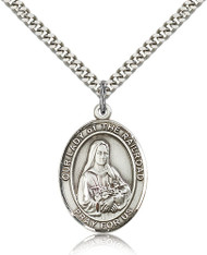 Our Lady of the Railroad Sterling Silver Medal 7247-bliss
