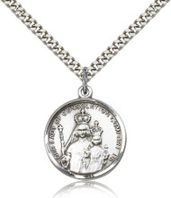 Our Lady of Consolation Sterling Silver Medal 0038-bliss