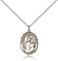 Our Lady of Consolation Sterling Silver Medal 8292-bliss
