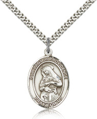 Our Lady of Providence Sterling Silver Medal 7087-bliss