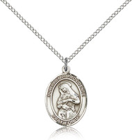 Our Lady of Providence Sterling Silver Medal 8087-bliss