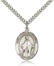 Our Lady of Africa Sterling Silver Medal 7269-bliss