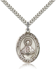 Our Lady of San Juan Sterling Silver Medal 7263-bliss